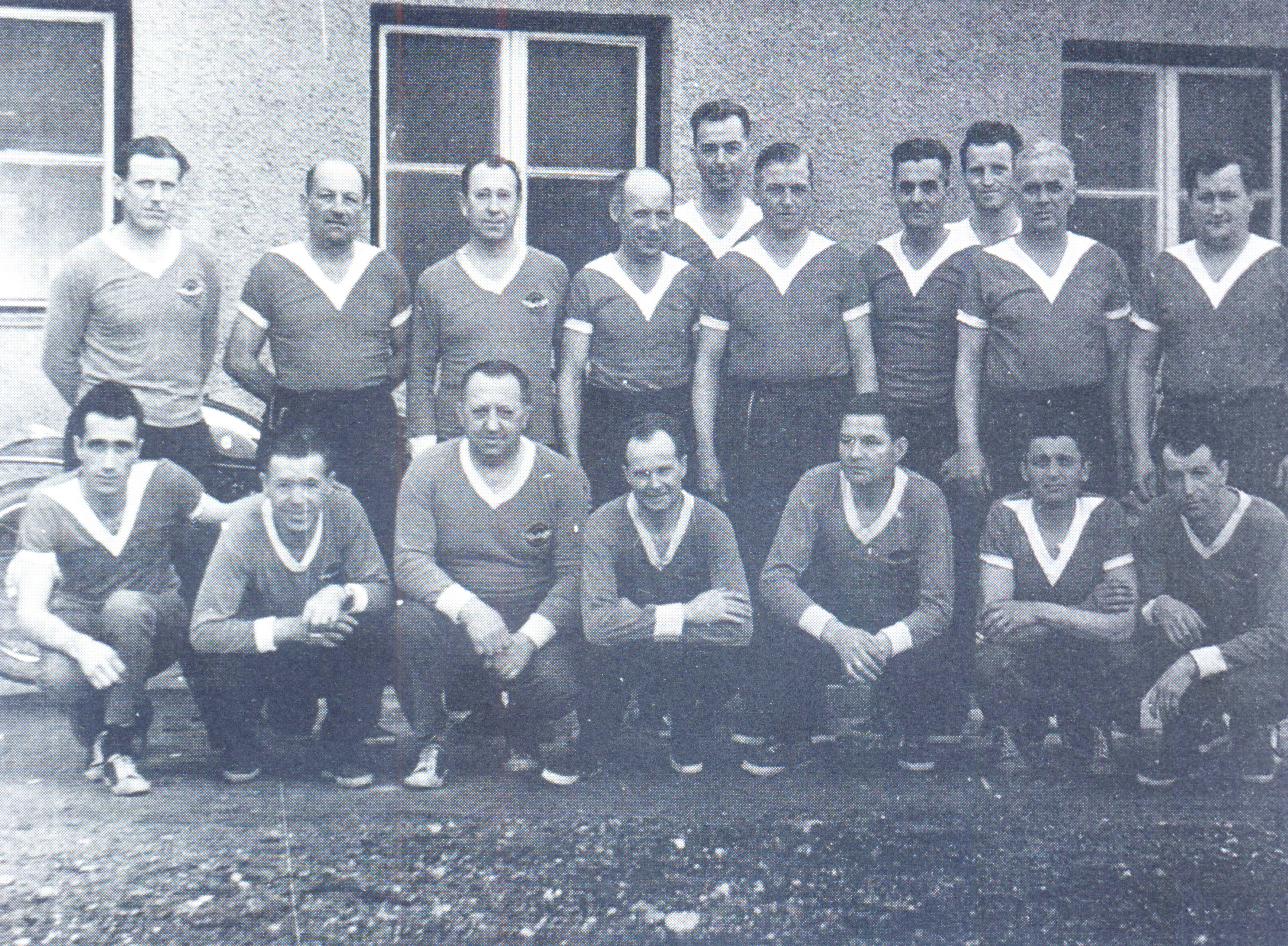 Ekipa s kegljači Ingrada, 1962