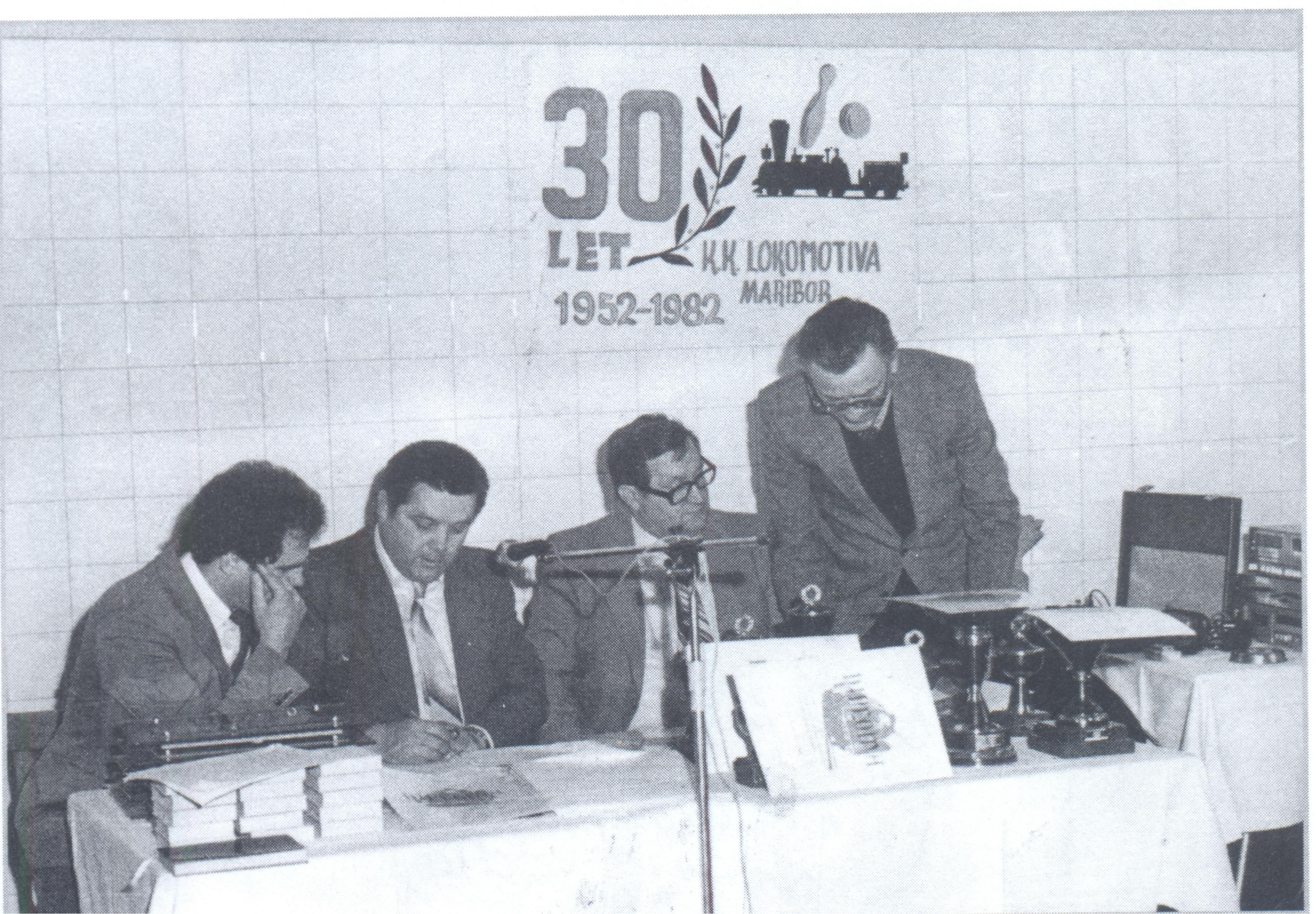 30. obletnica kluba, 1982
