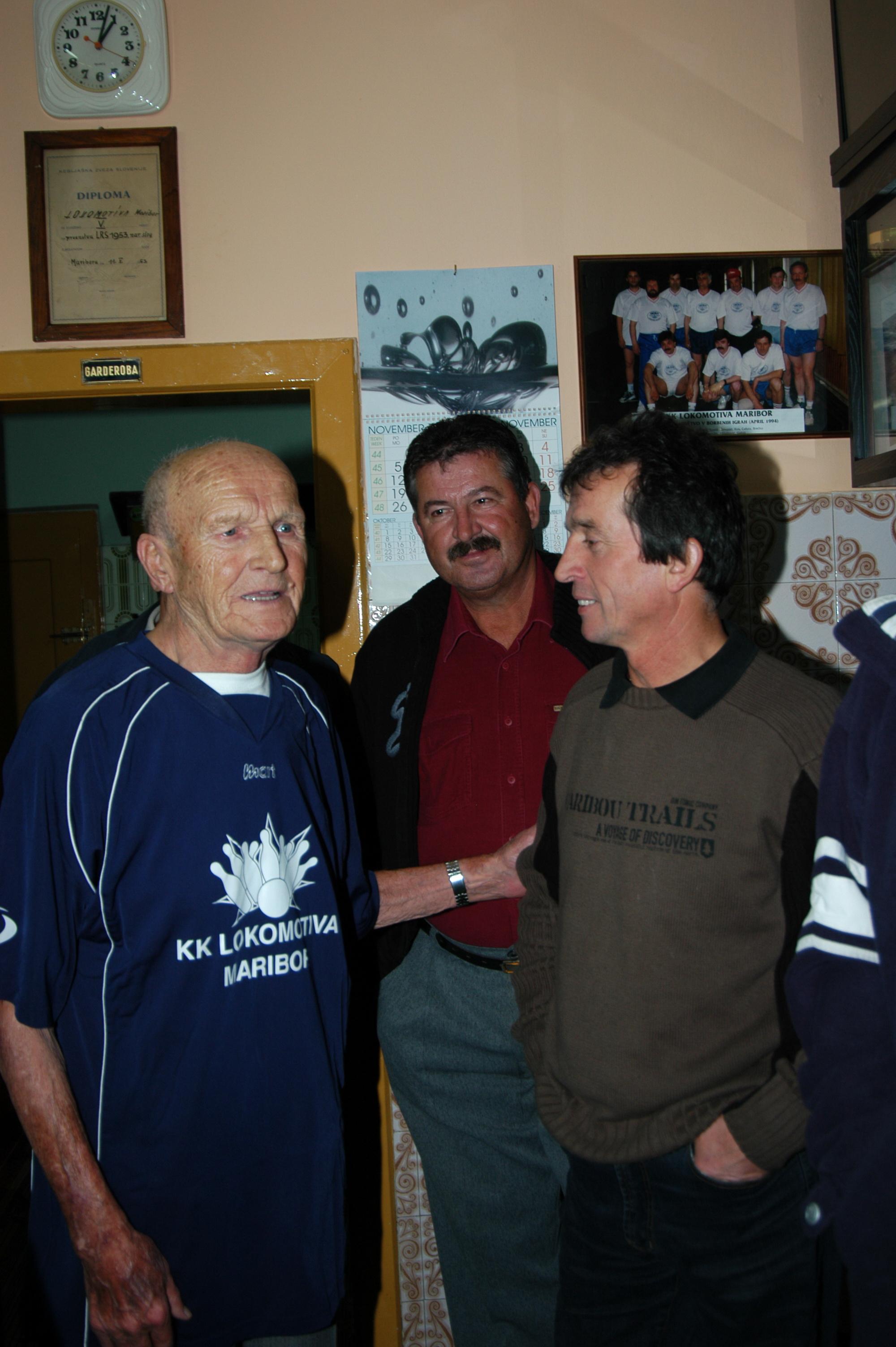Slavko Rosi in Franc Kirbiš, 2007