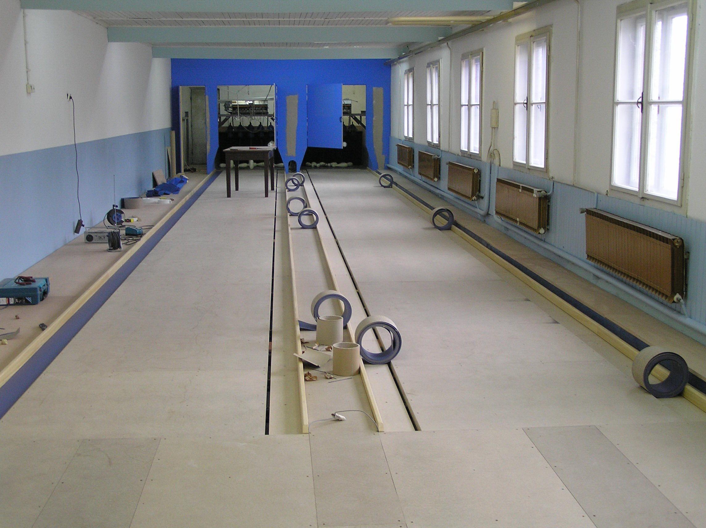 Obnova kegljišča 2007