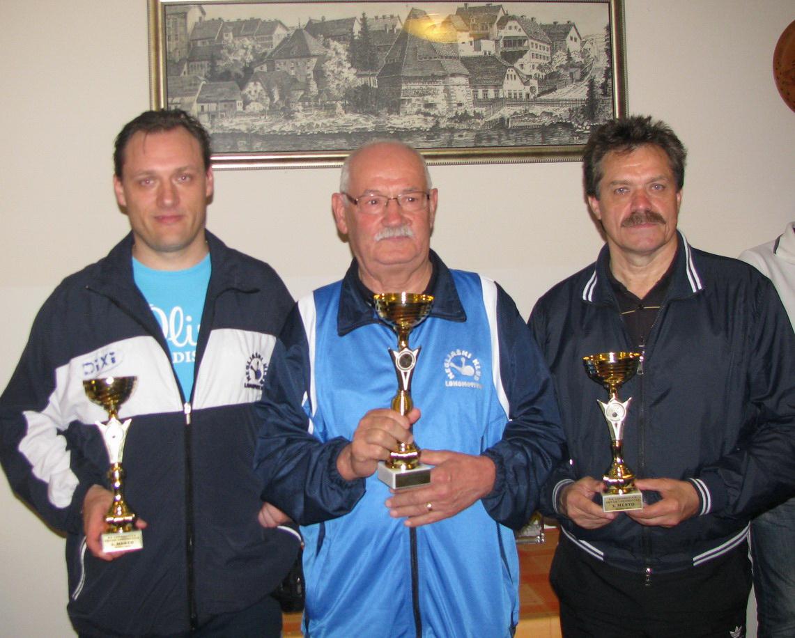 P. Rakovič tretjič klubski prvak, 2013