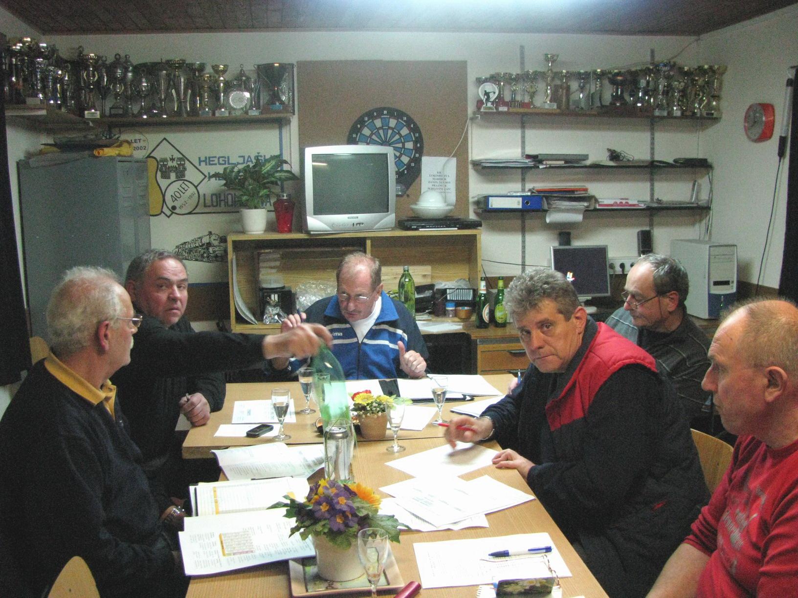 Organizacijski odbor za 60. obletnico, 2012