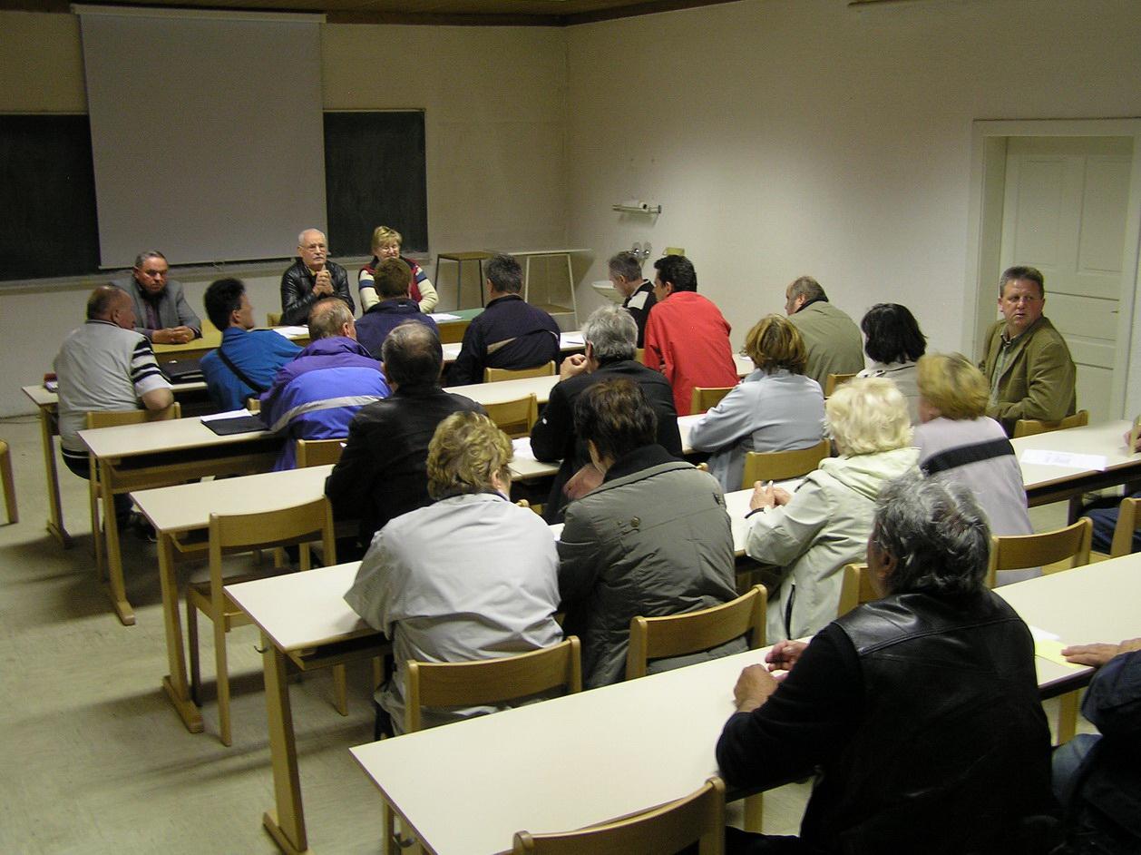 Zbor članov kluba, 2012