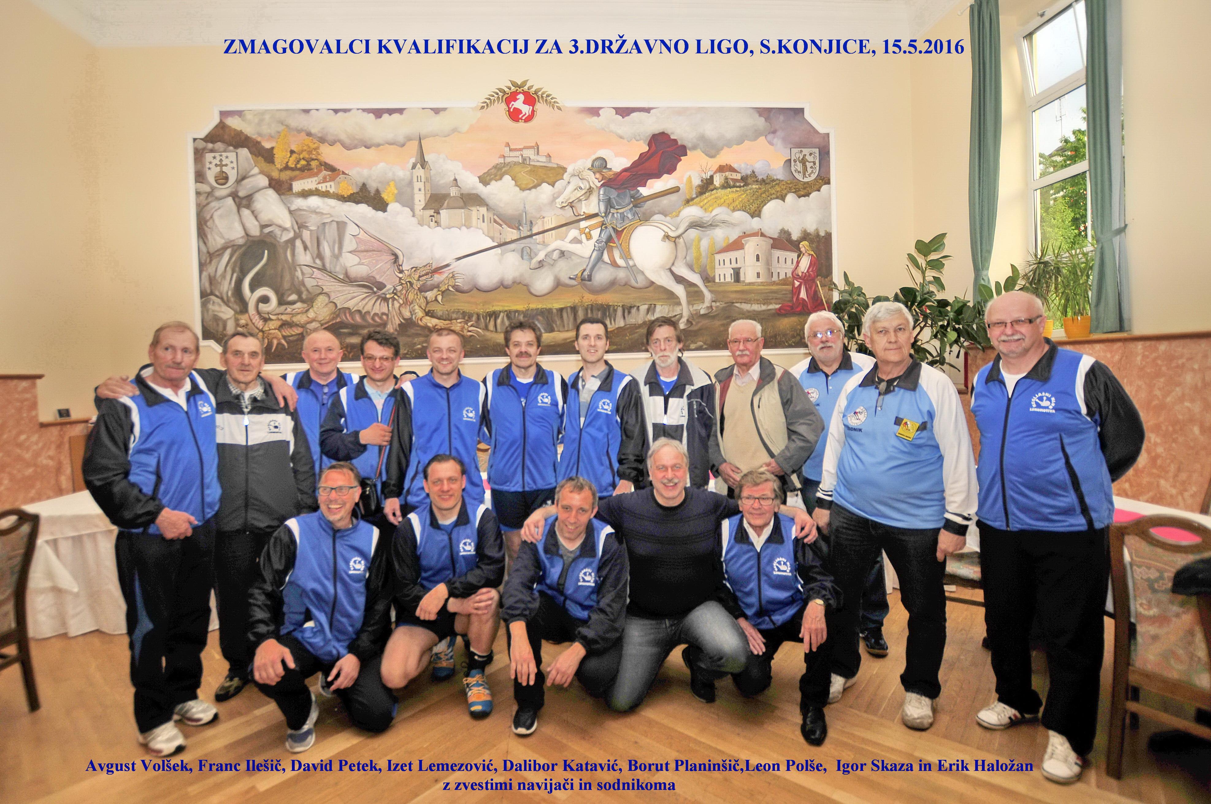 Lokosi po zmagi na kvalifikacijah za 3. d. ligo, 2016