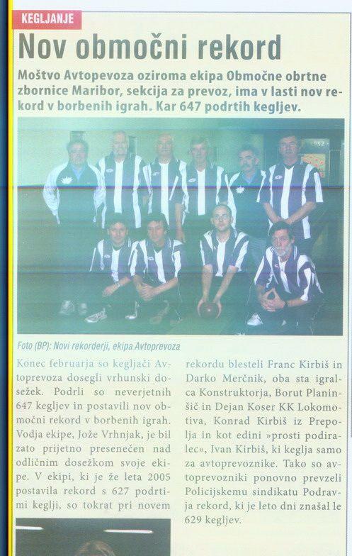 Slovenske Novice, 2007