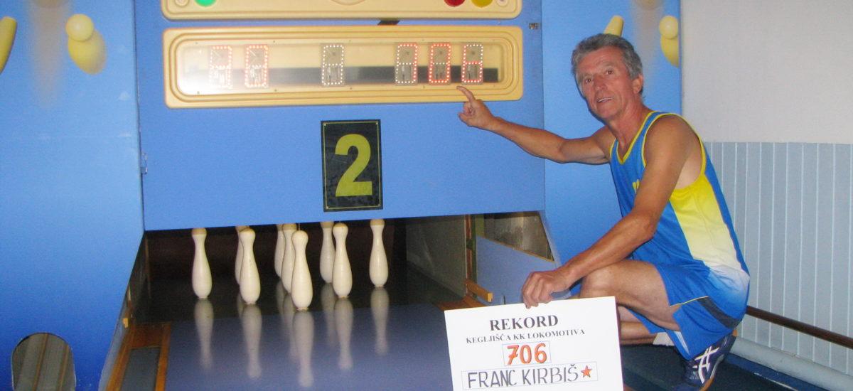 Franc Kirbiš zrušil magično sedemstotico!