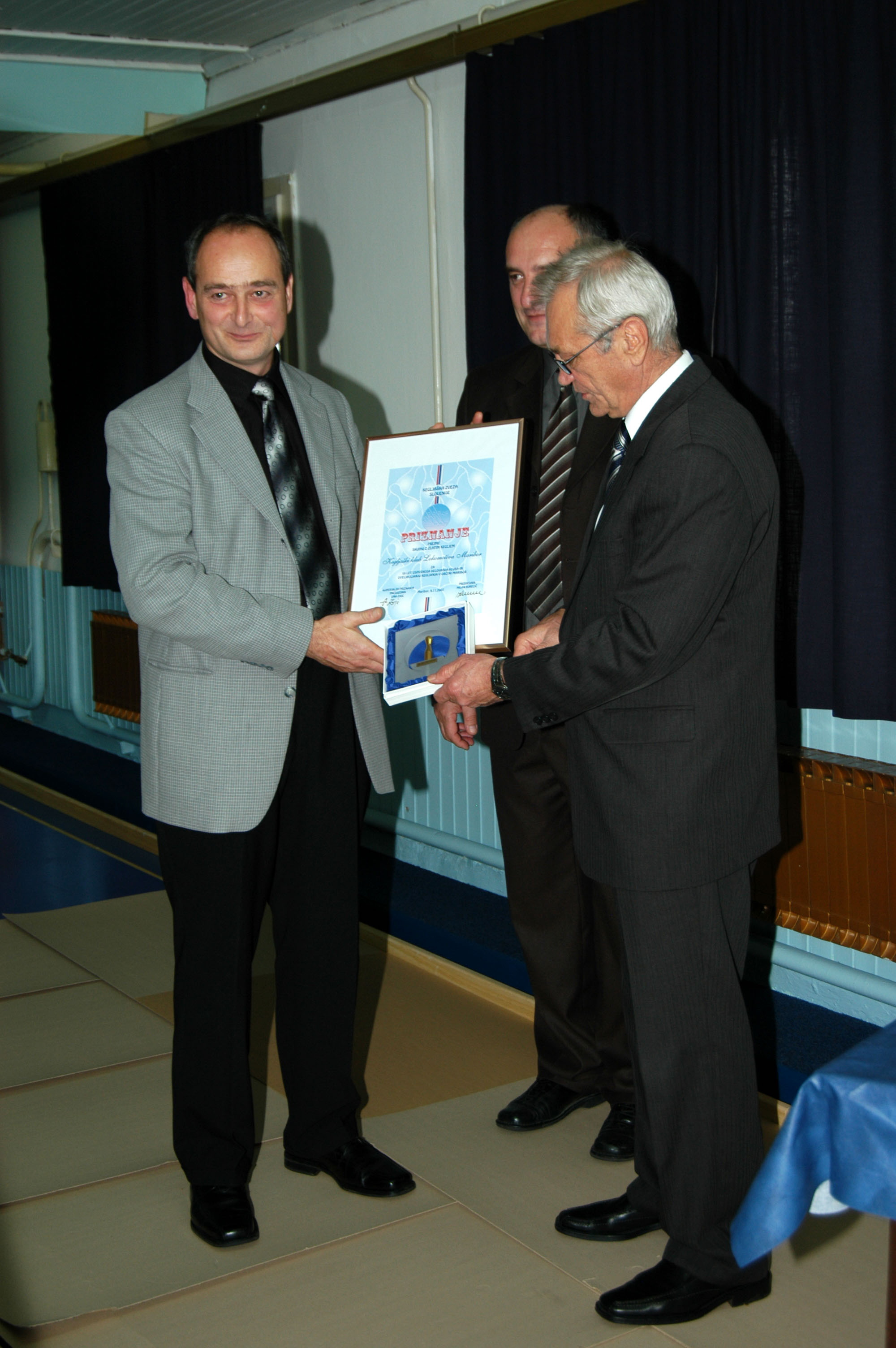 Zlati kegelj, Zmago Majer, 2007