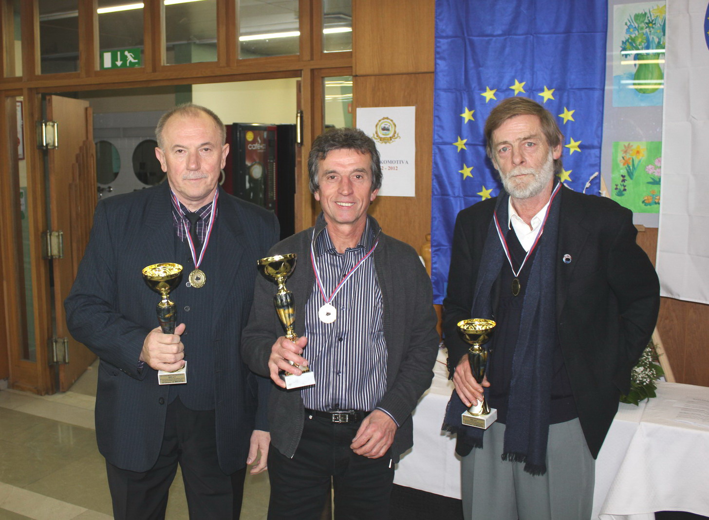 Franc Ilešič, Franc Kirbiš in Borut Planinšič, 2012