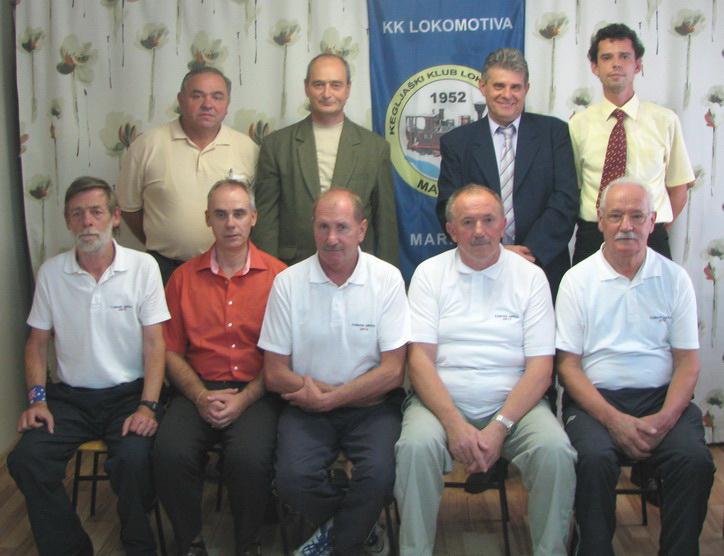 Organizacijski odbor ob 60. obletnici Lokomotive, 2012