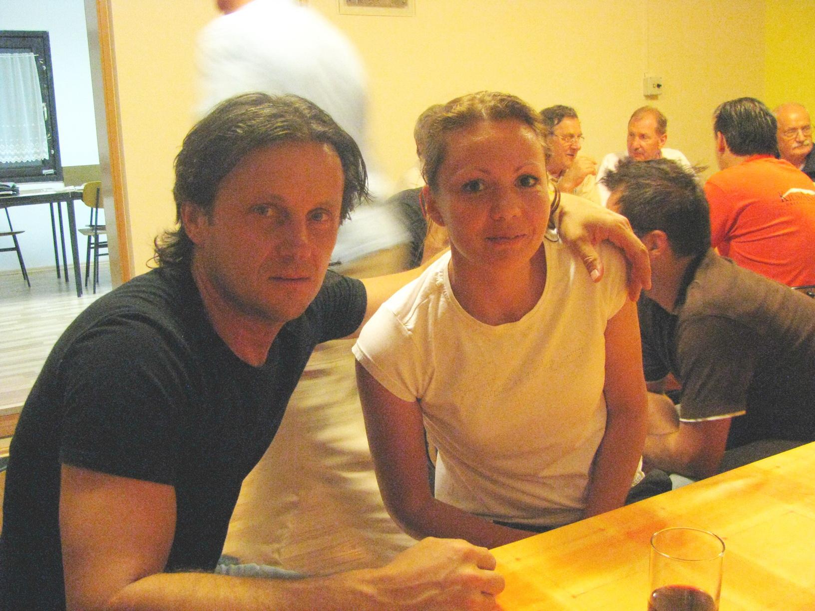 Uroš Stoklas in Eva Sajko, 2012