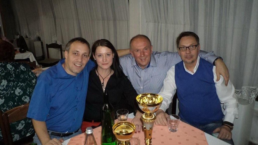E. Haložan, F. Ilešič in L. Polše, 2013