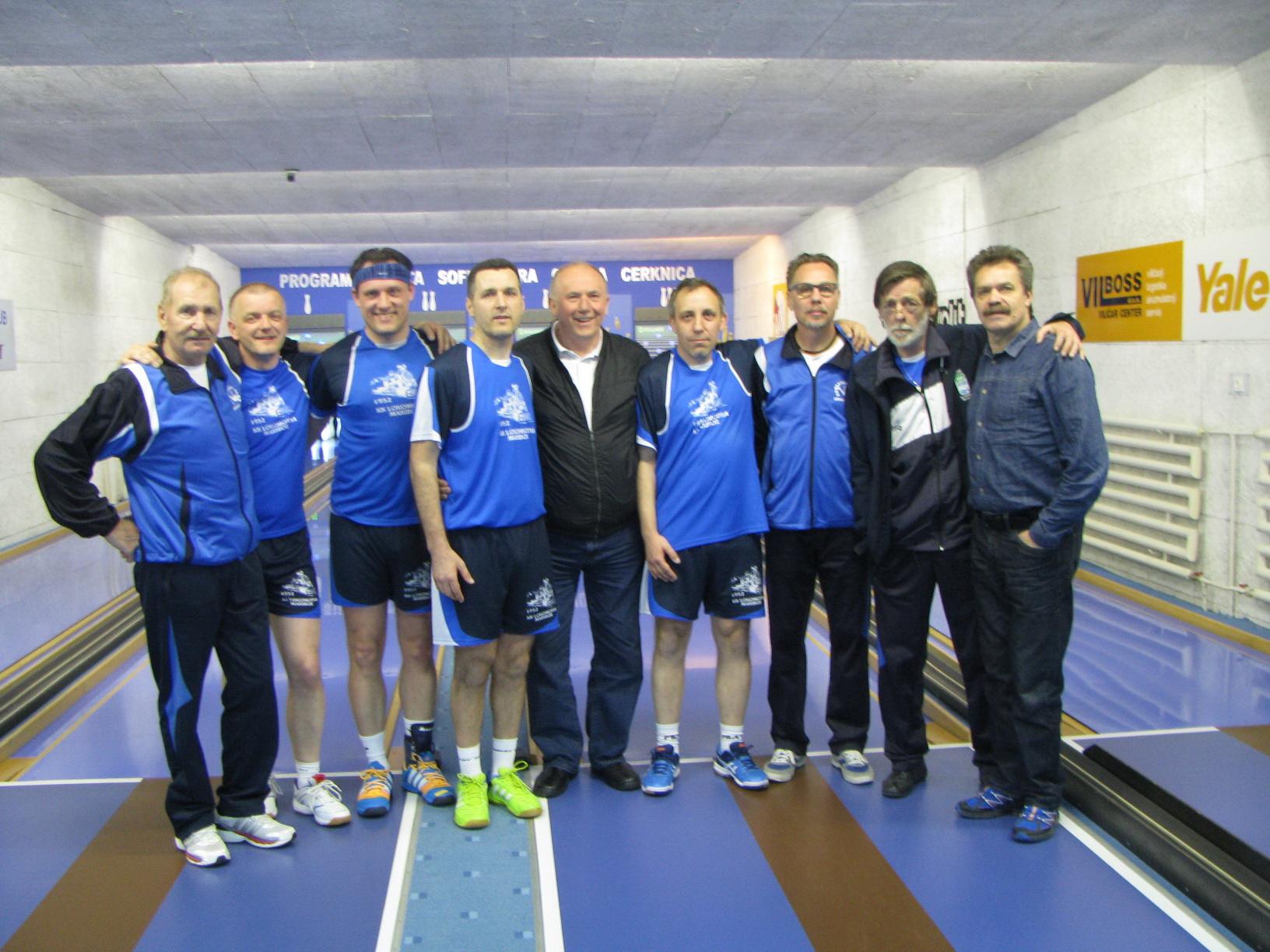 Na turnirju v Cerknici, 2016