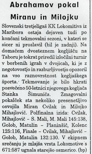 Ekipa, 1998
