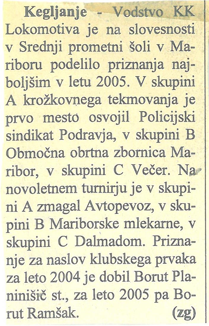 Večer, 2004