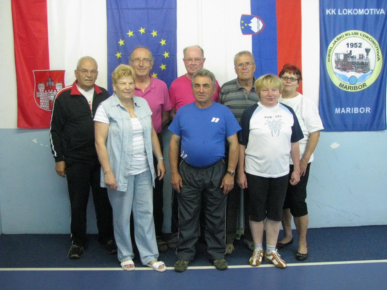 KK Lokomotiva veterani, 2012